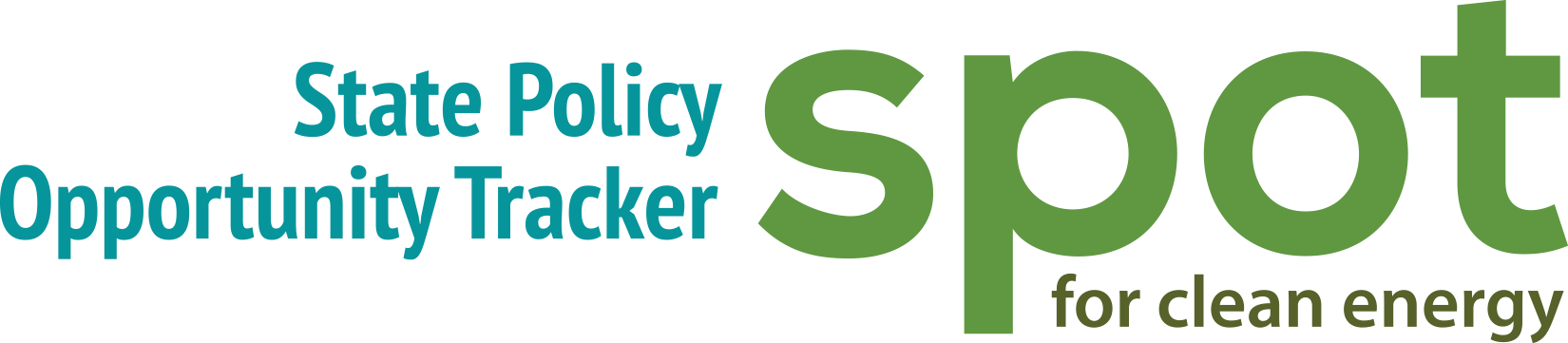 The State Policy Opportunity Tracker (SPOT) for Clean Energy